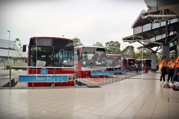 Panorama Melaka Melaka Sentral Platform 01